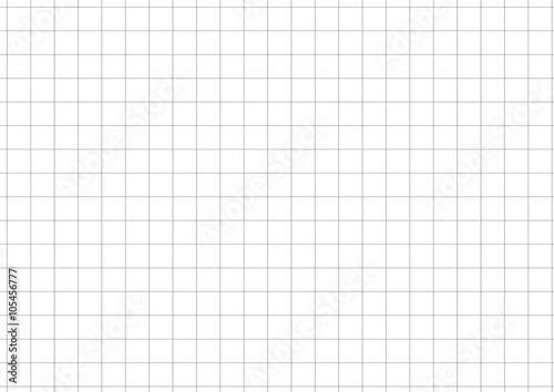 Obraz Black Grid White Background Vector Illustration - fototapety do salonu