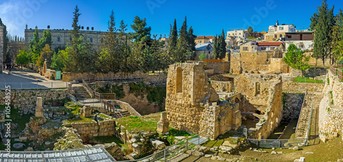фотография  The Byzantine landmark of Jerusalem