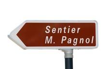 Sentier De Randonnée  Marcel Pagnol à Aubagne