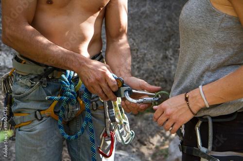 Bergsklättring i Montanejos