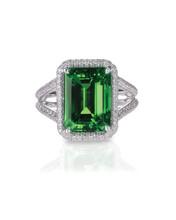 Green Emerald Fashion Engageme...