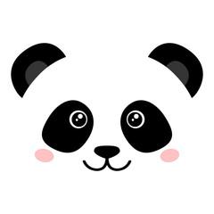 FototapetaCute panda face
