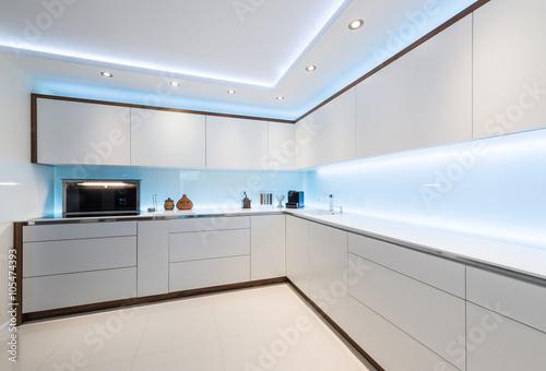 Fototapeta Modern gourmet kitchen interior obraz