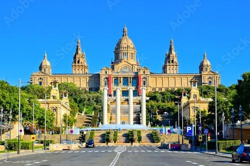 Papiers peints Barcelona National Art Museum of Catalonia in Barcelona, Spain
