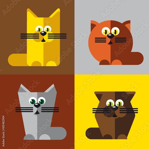 """Photo  Коты в стиле """"Энди Уорхола"""""""