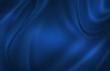 canvas print picture - Blue satin cloth background