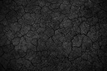 Crack Background Texture Of Rough Asphalt