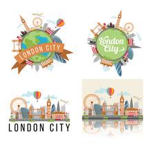 London City Background Set