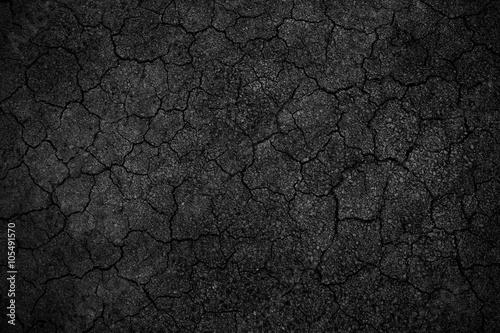 Fotografía  Crack background texture of rough asphalt