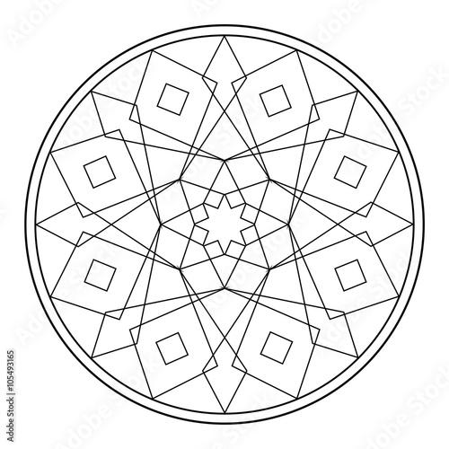 geometrische formen malvorlage  coloring and malvorlagan