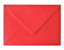 Blank, Red Envelope, Isolated ...
