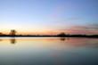 Jezioro, chmury
