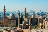 Mosque Madrassa of Sultan Hassan photo, panoramic view from fortress