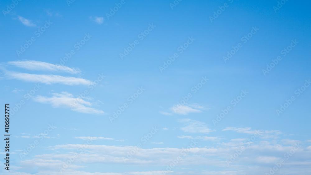 Fototapety, obrazy: clear blue sky background