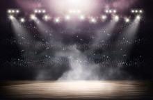 Basketball Arena Background