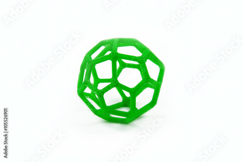 Stampa su Tela  3D Printed Sphere Shaped Object