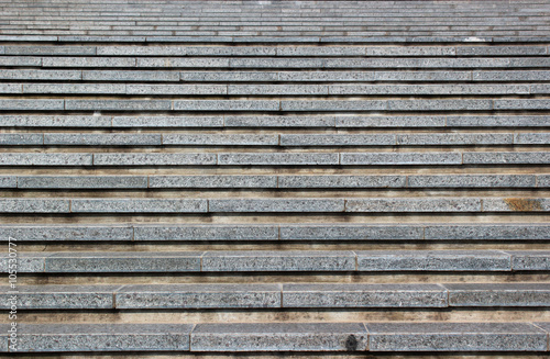 Photo Stands Stairs Abstract background of grey horizontal concrete stairs