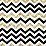 Wzór Chevron. Błyszcząca złota powierzchnia - 105531544