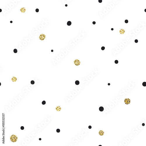 abstrakcjonistyczny-bezszwowy-wzor-na-bialym-tle-z-czernia-i-gol