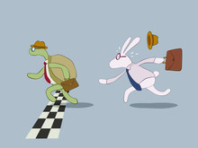 Turtle And Rabbit Business Rac...