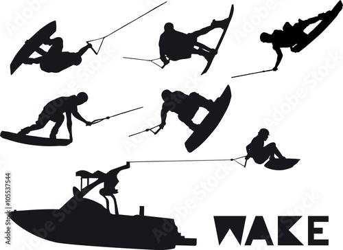 Wake_set_2 Wallpaper Mural