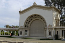 Spreckels Organ Pavilion Of Balboa Park In San Diego, California