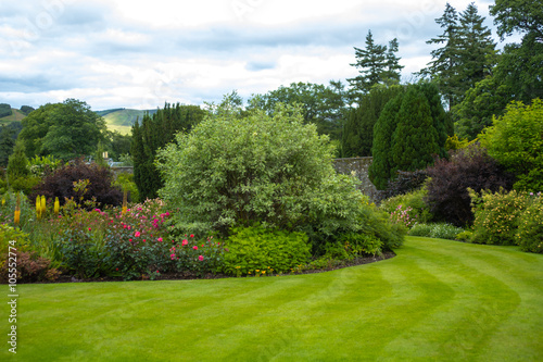 Photo Stands Garden Beautiful walled garden
