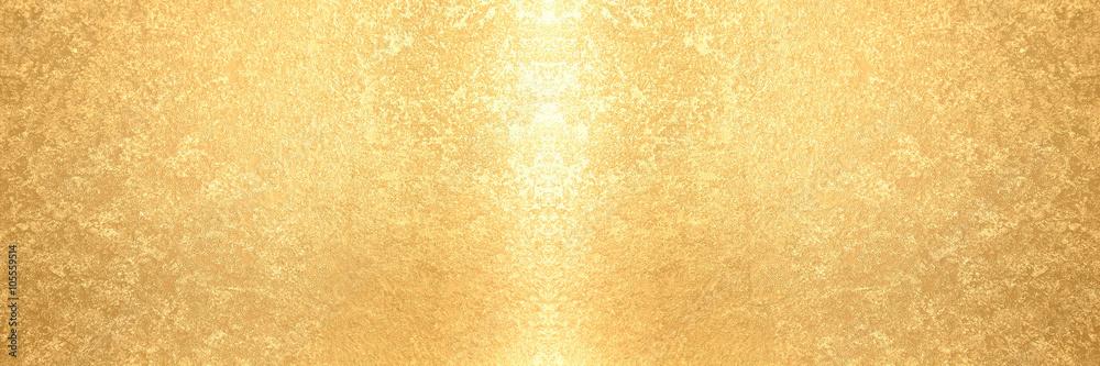 Fototapeta 金箔のバナー