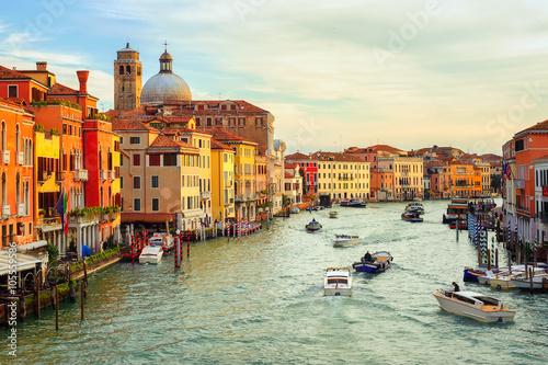 Fototapety, obrazy: The Grand Canal, Venice, Italy
