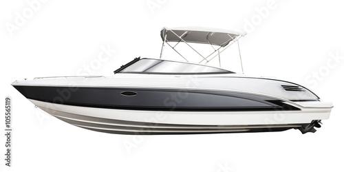 motor boat Fototapet