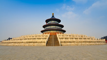 Hall Of Prayer For Good Harvests, Temple Of Heaven - Beijing, China
