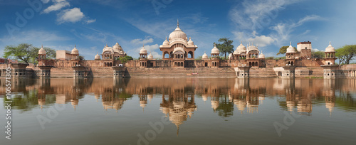 Foto op Plexiglas India Kusum Sarovar in Mathura Uttar-Pradesh, India.