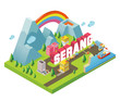 Serang is one of beautiful city to visit