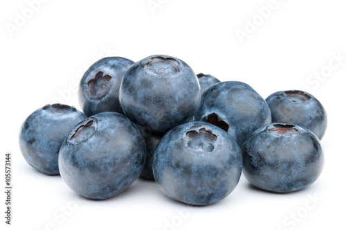 Stampa su Tela blueberry or bilberry or blackberry or blue whortleberry or huck