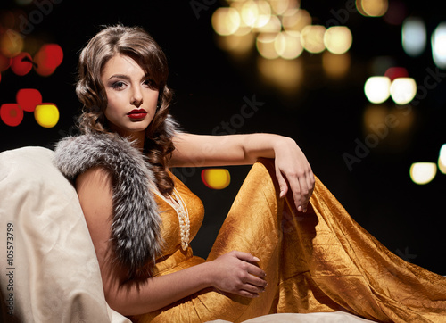 Fotografia  glamor fashion lady portrait