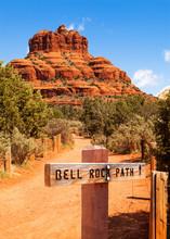 Bell Rock Path In Sedona Arizona