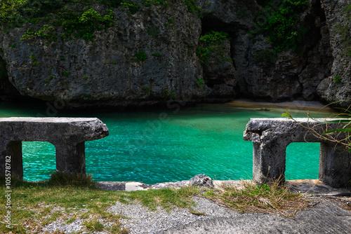 伊良部島の風景 日本 沖縄 宮古島 Poster
