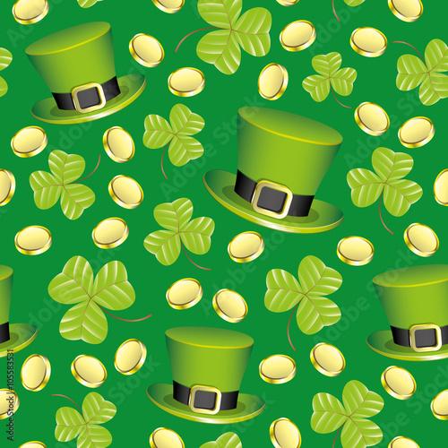 zielone-kapelusiki-i-koniczynki