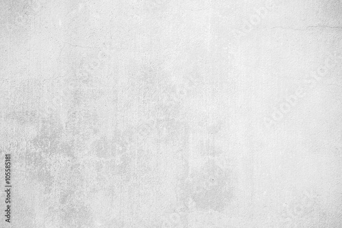 Photo sur Aluminium Beton white grunge concrete wall texture