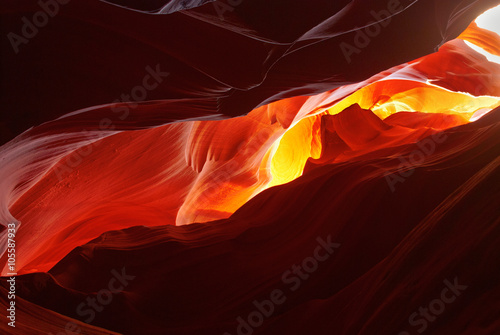 obraz lub plakat Scenic paint Antelope Canyon, Arizona, USA