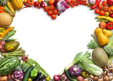 Heart Shaped Food. Food Photog...