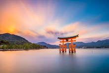 Miyajima Shrine Gate In Hirosh...