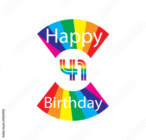 Poster  41 happy birthday