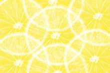 Yellow Lemon Orange Texture Background