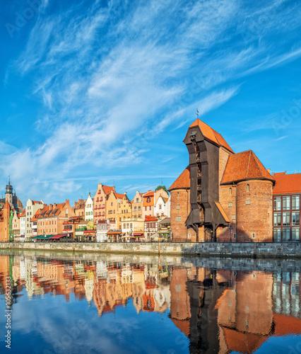 Cityscape of Gdansk in the morning © tilialucida
