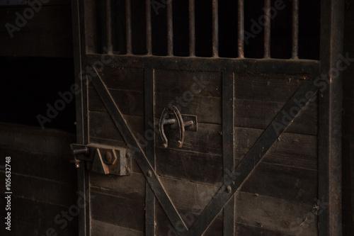 Fotografie, Obraz  Cancello di una scuderia