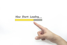 New Start Loading Bar With Han...