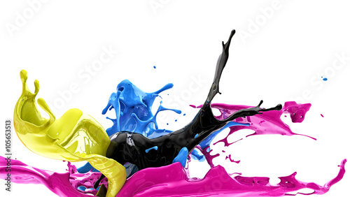 color splash, cmyk