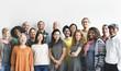 canvas print picture - Diversity People Group Team Union Concept