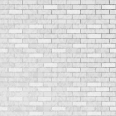 FototapetaSeamless background white brick